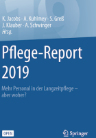 Pflege-Report 2019 - Cover - kh